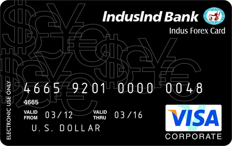 Indian bank forex card rates